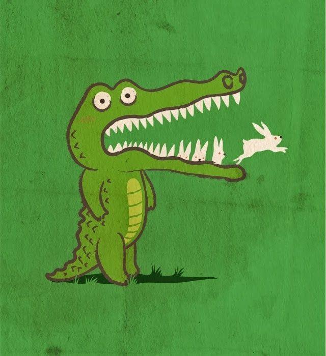 Смешной крокодил картинка, айфонов
