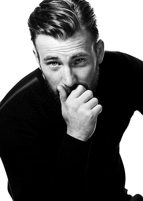 Chris Evans photographed by Mark Mann