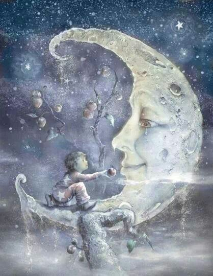 Moon:  #Crescent #Moon.