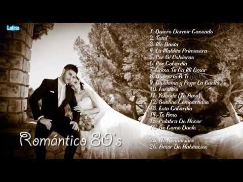 Mix Romántico de los 80's || Las Mejores Baladas Románticas de los 80's - YouTube