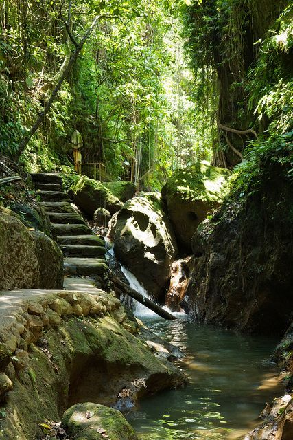 Path to Sacred Monkey Forest in Bali,   Indonesia (by SebastienToulouse).