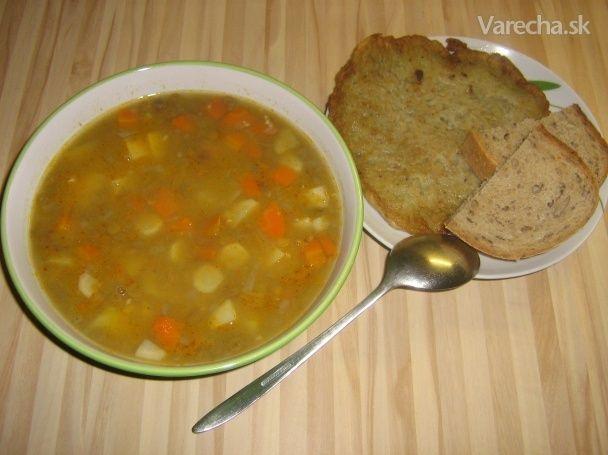 Hustá šošovicová polievka - Recept