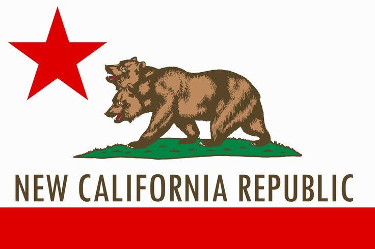 new california republic flag