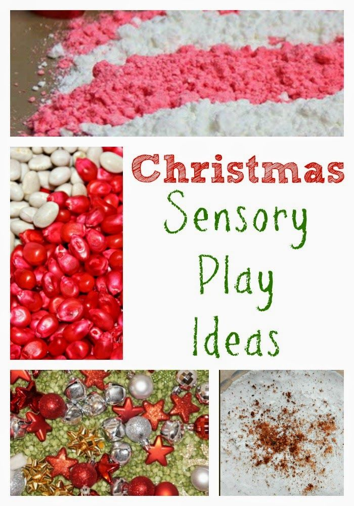 Christmas Sensory Play Ideas for Kids from Still Playing School