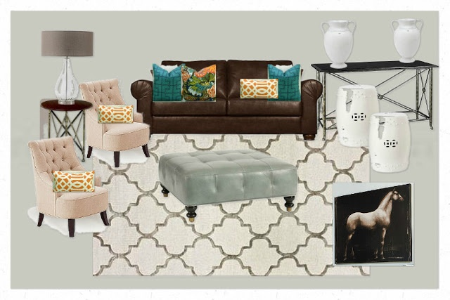 Best 25 brown couch decor ideas on pinterest brown sofa - How to decorate a brown living room ...