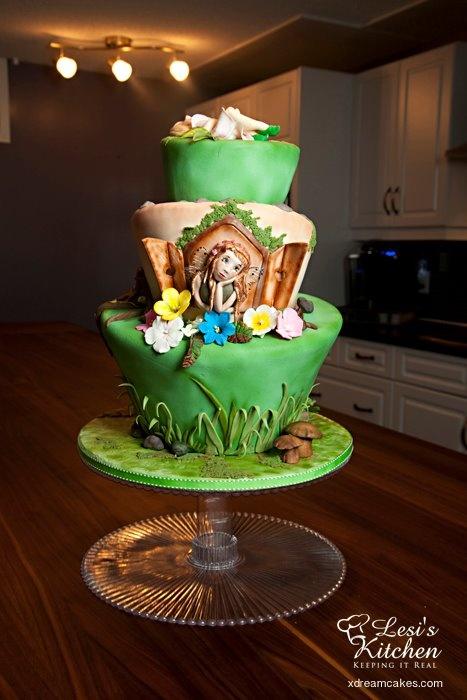 Fairy TopsyTurvy Cake Workshops