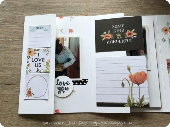 Schnelles Minialbum mit ProjectLife Karten