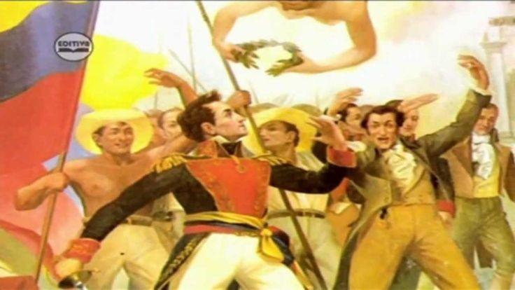 Biografia de Simón Bolívar El Libertador. Héroe para América del Sur. liberada Colombia
