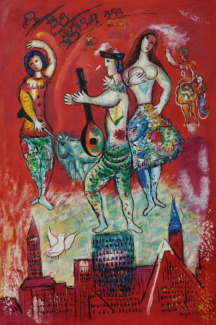 we love the passion - #MarcChagall - Carmen http://femalefactorforum.wordpress.com/