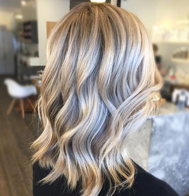Creamy Sandy Blonde Balayage For Blonde Hair Balayage Pinterest Blonde Balayage Sandy