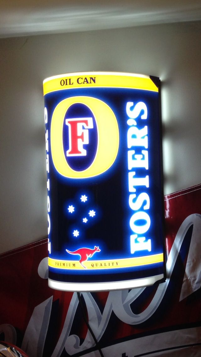 Fosters Beer Beer Signs And Beer On Pinterest