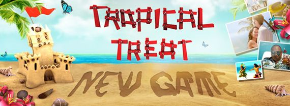 SLOTLAND NO DEPOSIT BONUS - $10 FREE CHIP FOR NEW GAME TROPICAL TREAT ($20 FOR VIPS)  In Need of a Vacation? Tropical Treat is here to whisk you to the beach! Dive in headfirst and start playing Slotland's hot desktop slot now with up to $20 free cash!