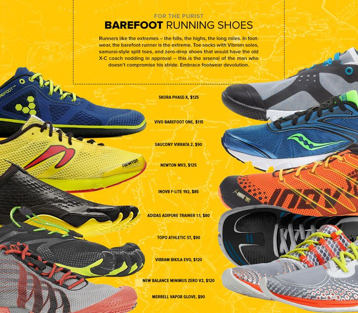 BAREFOOT EXCEPT FOR THE SHOE 10 BEST BAREFOOT RUNNING SHOES:By MATTHEW ANKENY on 9.12.14 - Gear Patrol