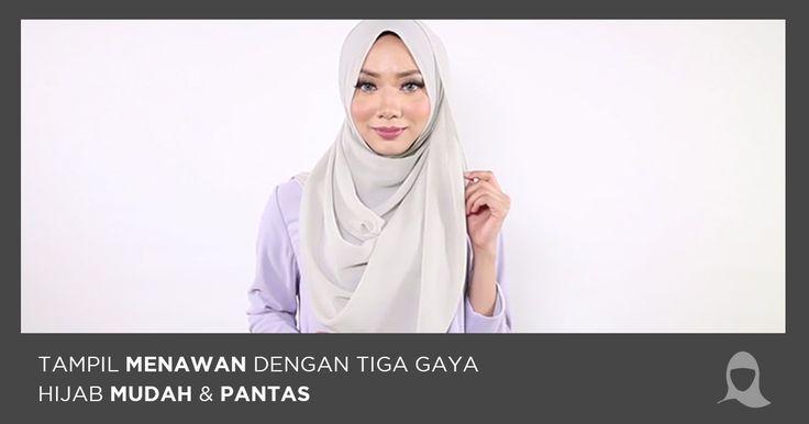 Tampil Menawan Dengan Gaya Hijab Zahra Mudah & Pantas – Hijab Jumaat