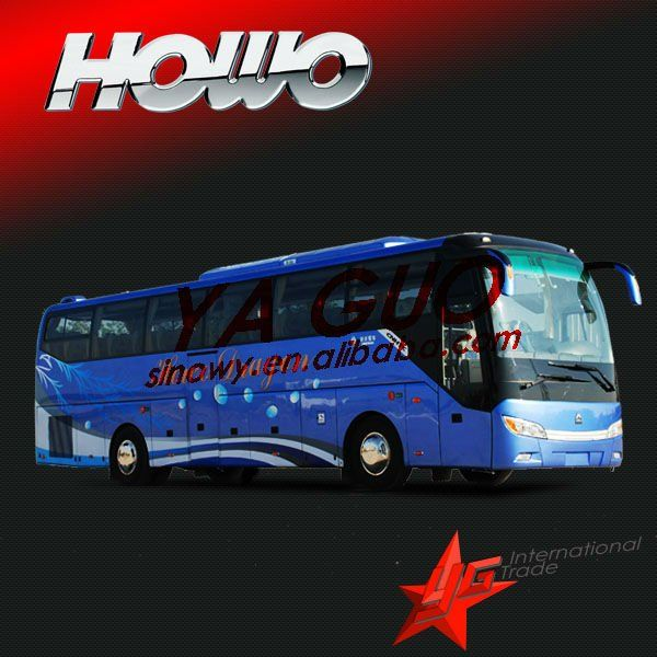 howo passenger used buses for sale