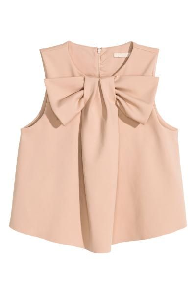 Blusa con lazo | H&M