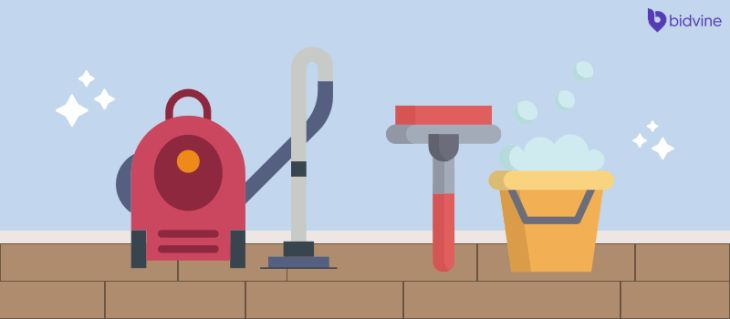 40 Simple Things You Can do to Make Moving House Easier - Sort Before You Pack - Hire a Domestic Cleaner