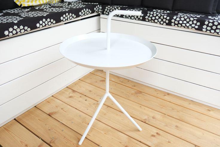 Hay DLM pöytä, lehtikuusi, Puketti-kangas