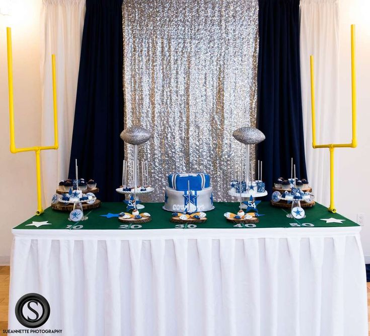 Dallas Cowboy Theme Baby Shower Party Ideas | Photo 1 of 66 | Catch My Party