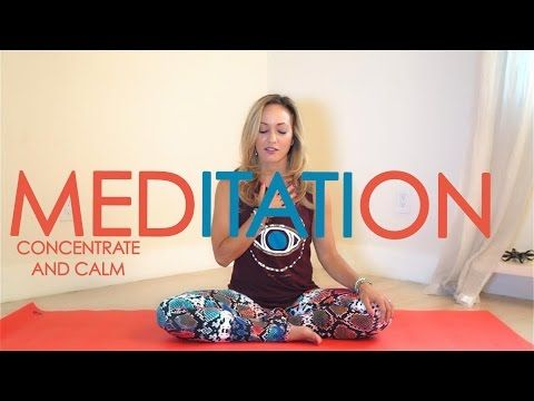 13mins-Week Three: Month of Meditation with Kino Yoga - Concentrate and Calm the Mind…