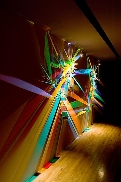 White Light Separates Into A Dazzling Array Of Colors