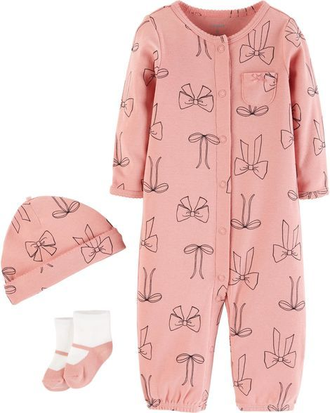 becdbe83f134 3-Piece Babysoft Converter Gown Set