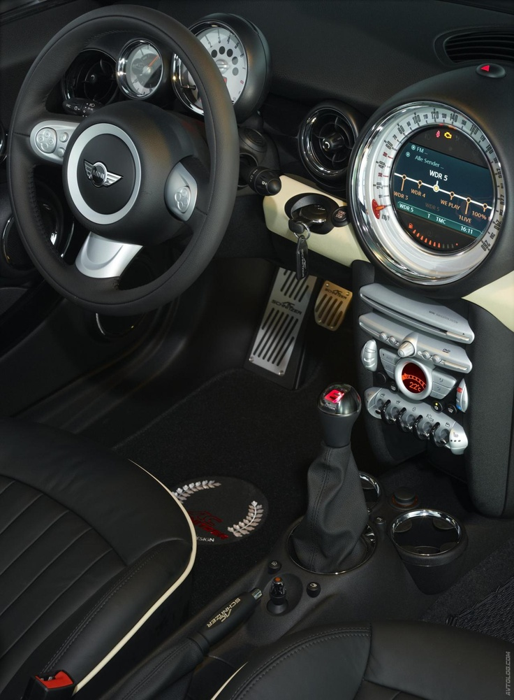 2009 Ac Schnitzer Mini Coopers Cabriolet Gotta Love A Stick Shift