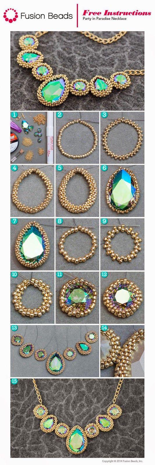 Массивное ожерелье своими руками: как сделать модный аксессуар самой - Ladiesvenue