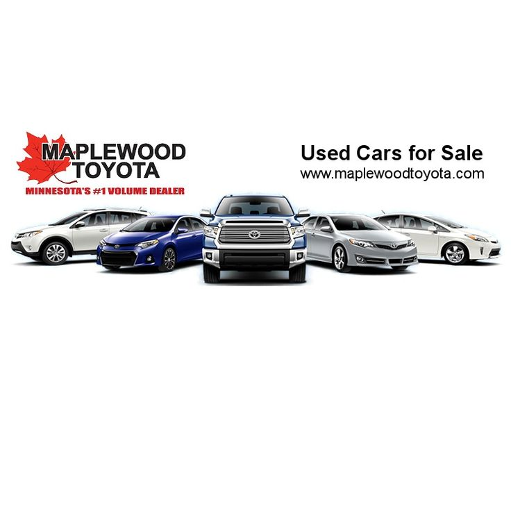 Find Used Cars and Certified Toyotas at Maplewood Toyota, Maplewood, MN 55109 #usedcarsmaplewood, #maplewood, #toyota, #certifiedtoyotas
