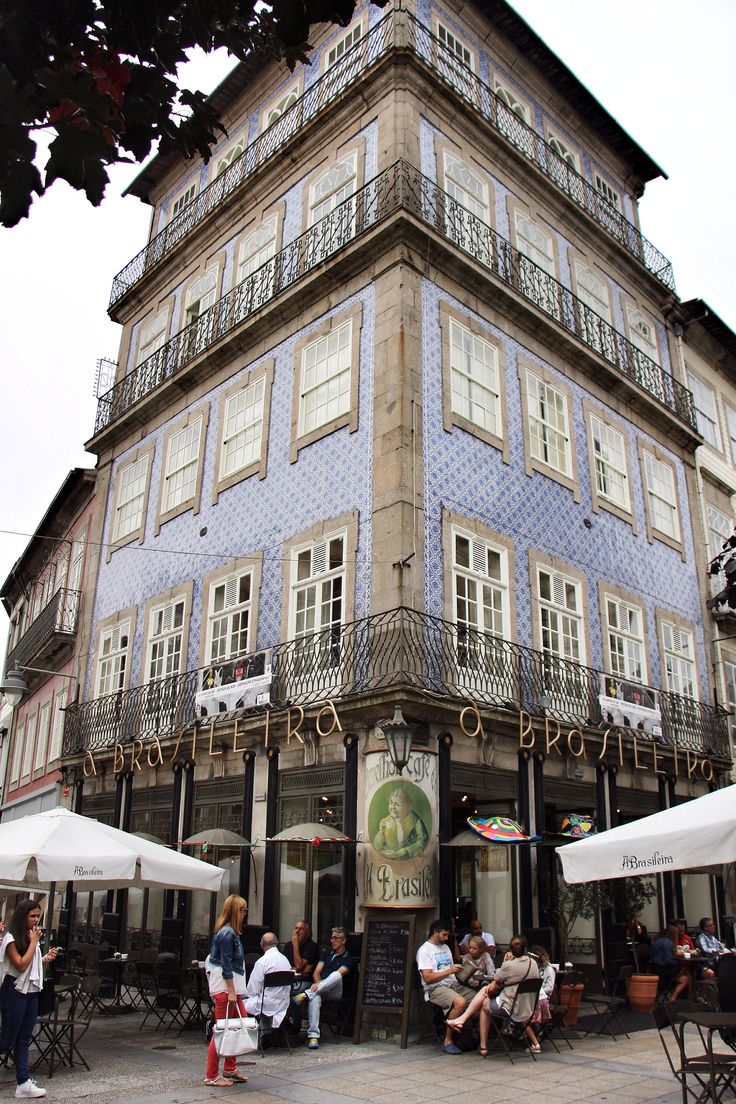 Cafe culture in Braga