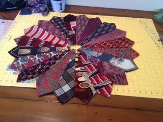 Just give me a needle!: Dresden Necktie Quilt Tutorial