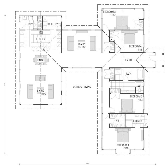 Home Building, Wooden Floor & Timber Frame House Plans New Zealand