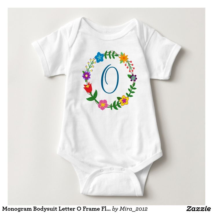 Monogram Bodysuit Letter O Frame Flowers. new baby boy, one-year, or Christmas gift for a boy whose name starts with an O: Oliver, Ollie, Ocean, Odell, Oscar, Ozzie, Octavius, Octavus, Octavian, Octavo, Owen, Omar, Otis, Odin, Otto, Orlando, Olson, Oleg, Ogden, Olivier, Olef, Olafur, Oswald, Orton, Ory, Orion, Orrie, Otto, Oriel, Osmond, Oren, Omar, and so on. There are two types of cursive O letters to choose from, and all the monograms of the English alphabet