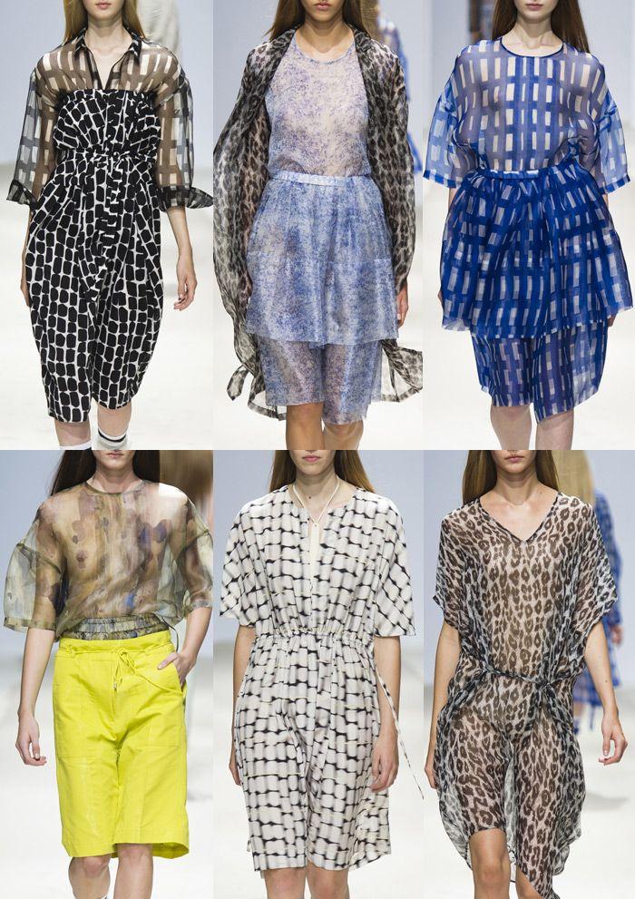 Christian Wijnants - Paris Fashion Week -   Spring/Summer 2014 - Print Highlights Part 1