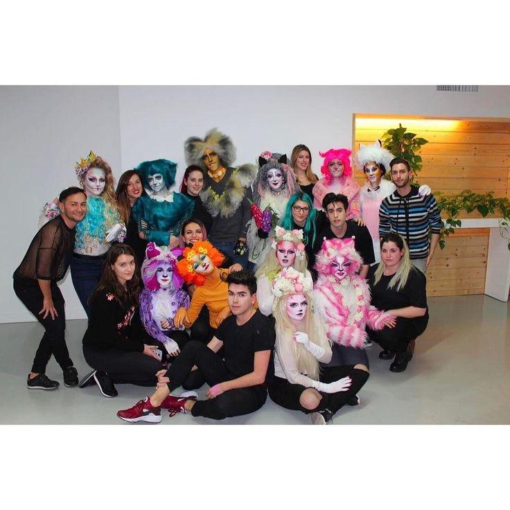Así fue el examen de caracterización de #Cats del Grupo Jade del Curso Superior Universitario de Perfeccionamiento en #Maquillaje. Más fotos en Instagram Stories y en nuestro Facebook!