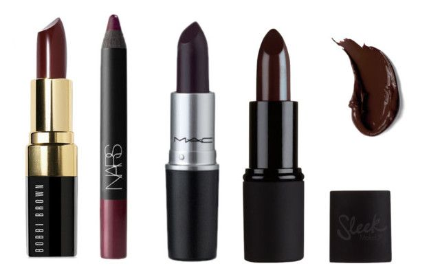 """Dark lips"" by sarahdasel on Polyvore featuring beauté, NARS Cosmetics, M.A.C et Bobbi Brown Cosmetics"