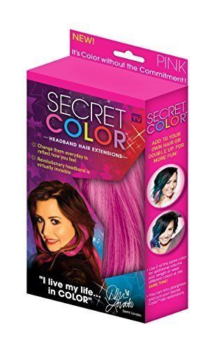 Secret Color Headband Hair Extensions Pink by ALLSTAR PRODUCTS GROUP, http://www.amazon.ca/dp/B01095H1WK/ref=cm_sw_r_pi_awdl_ZIF8vbM6QD053
