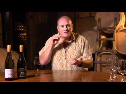 Wine Tasting at Murdoch James Estate Martinborough New Zealand.