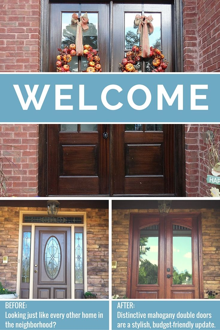 Welcome Holiday Guests In Style With New Double Entry Doors! Replace Your  Existing Front Door