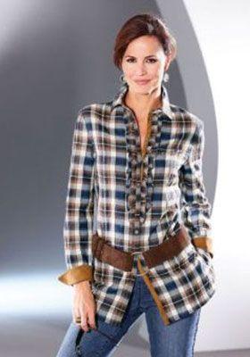 Блузы и рубашки в стиле кантри