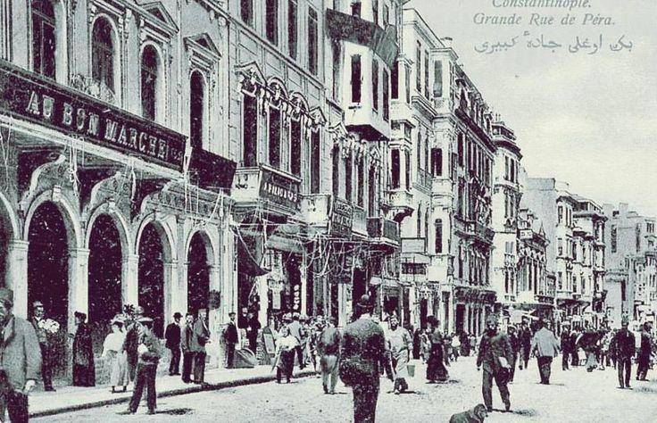 "Twitter / hayalleme: İstiklal Caddesi ""Au Bon Marche"" ..."