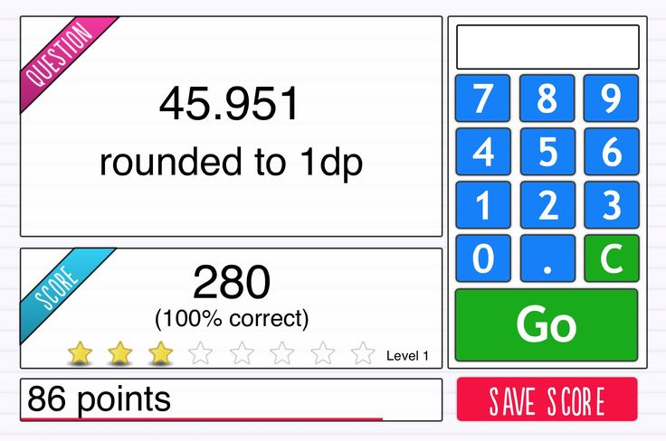I Can Round Numbers To The Nearest Tenth. | Interactive Game | Lesson ID 090 | Studyzone.tv How quickly can you round numbers to the nearest tenth? Play against the clock and see what level you can get up to before you run out of time!