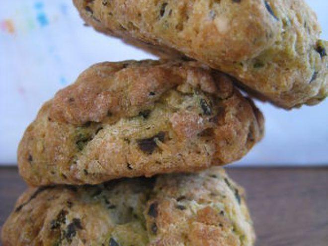 Cookies salés au pesto