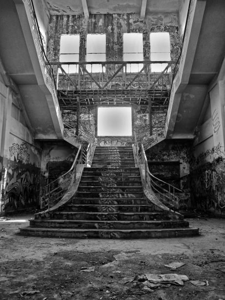 Abandoned Power Station - Coogee, Fremantle, Western Australia - Photo: Akrotiri