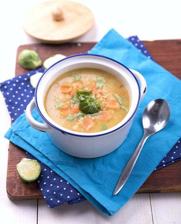 Jemná mrkvová polévka