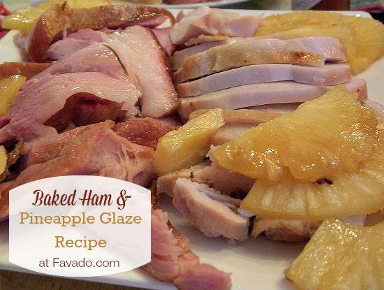 Baked Ham and Pineapple Glaze Recipe for Easter | Favado.com