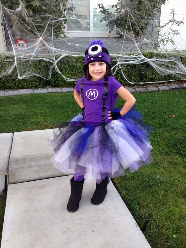 purple minion halloween costume ideas homemade halloween costumes for kids