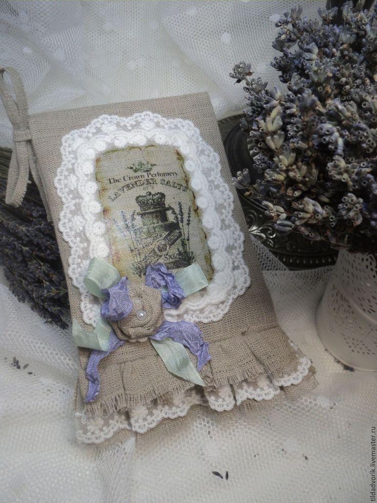 Купить Саше с сухоцветом лаванды. Реноме... - сиреневый, фиолетовый, лавандовый цвет, ручная работа handmade
