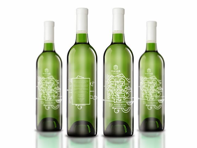 Tikves Chardonay (Concept) on Packaging of the World - Creative Package Design Gallery