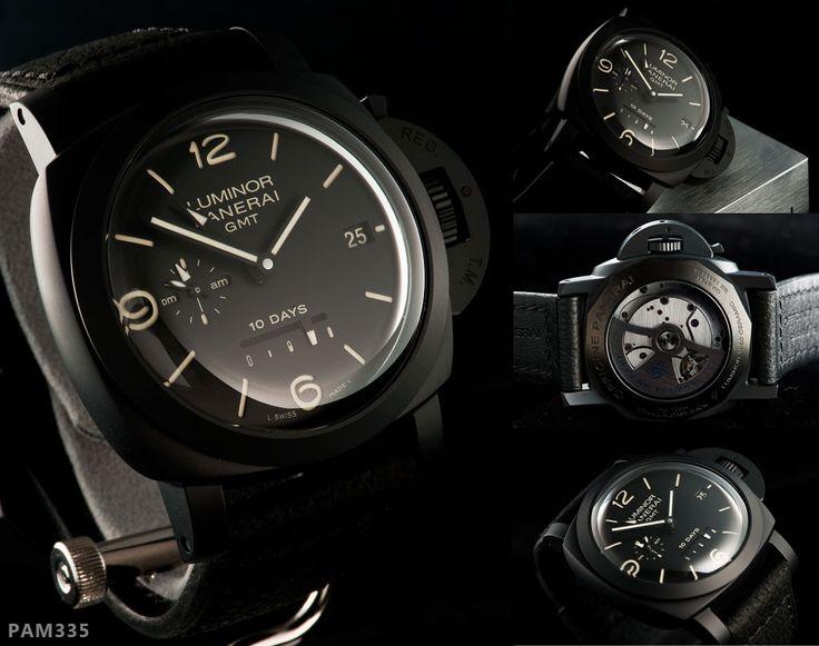 Panerai PAM335    Condition : Brand New  Series : N  Case : Black Ceramic  Ref : PAM 00335  Price : Contact Us